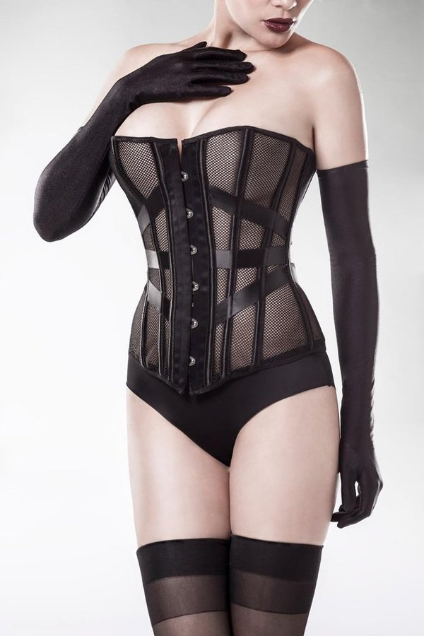 Ensemble Corset de Grey Velvet